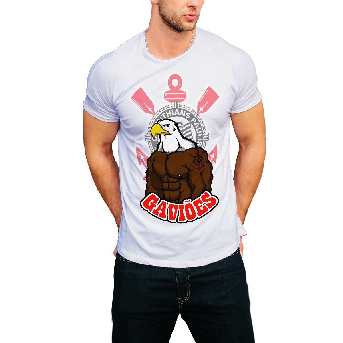 53ae795ef07ce camiseta timão coringão corinthians gaviões camisa branca. Carregando zoom.