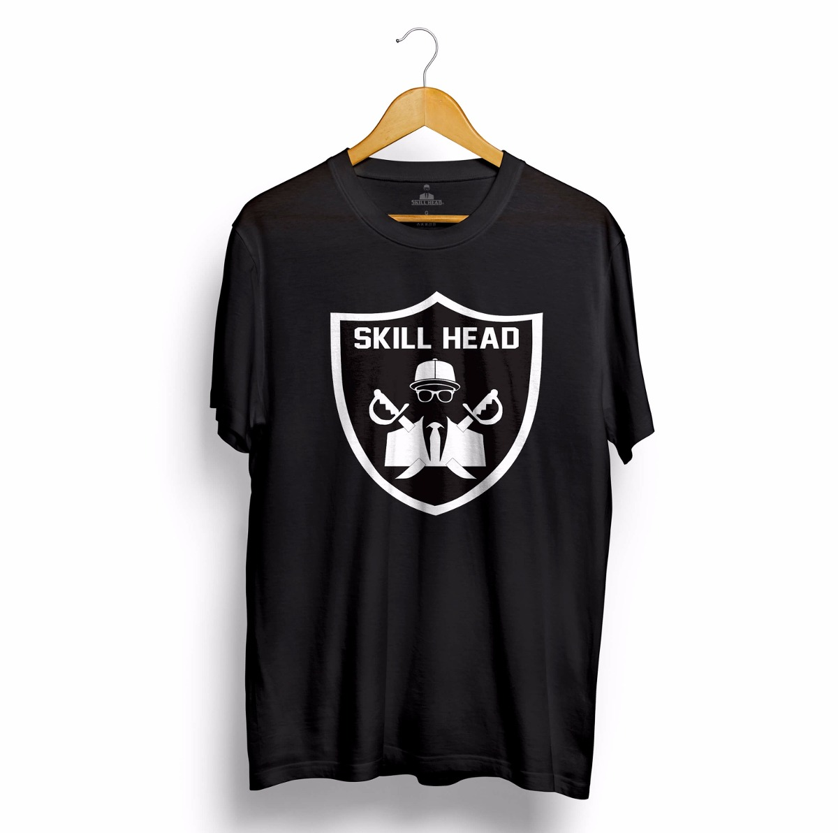 a6c3b6f49 camiseta tipo oakland raiders nfl futebol americano preta. Carregando zoom.