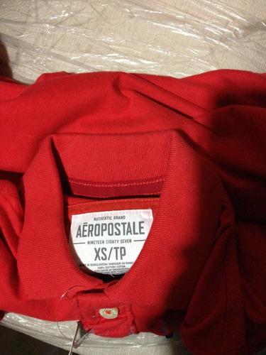 camiseta tipo polo aeropostale  talla xsmall