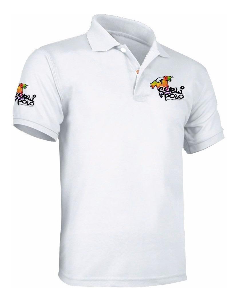 como escoger tienda oficial gran ajuste Camiseta Tipo Polo Estampada Personalizada