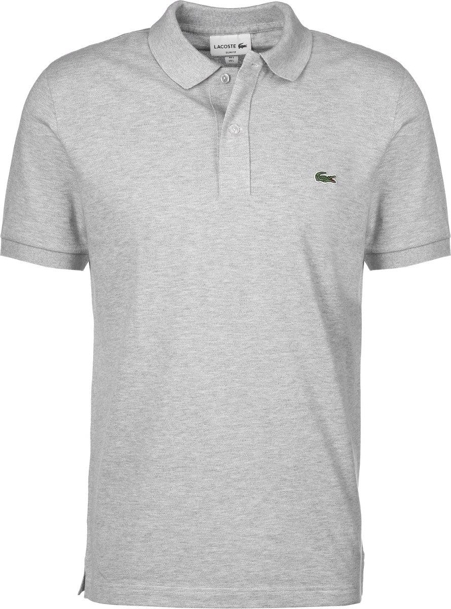6587e1bad38f2 Camiseta Tipo Polo Lacoste Gris -   59.900 en Mercado Libre