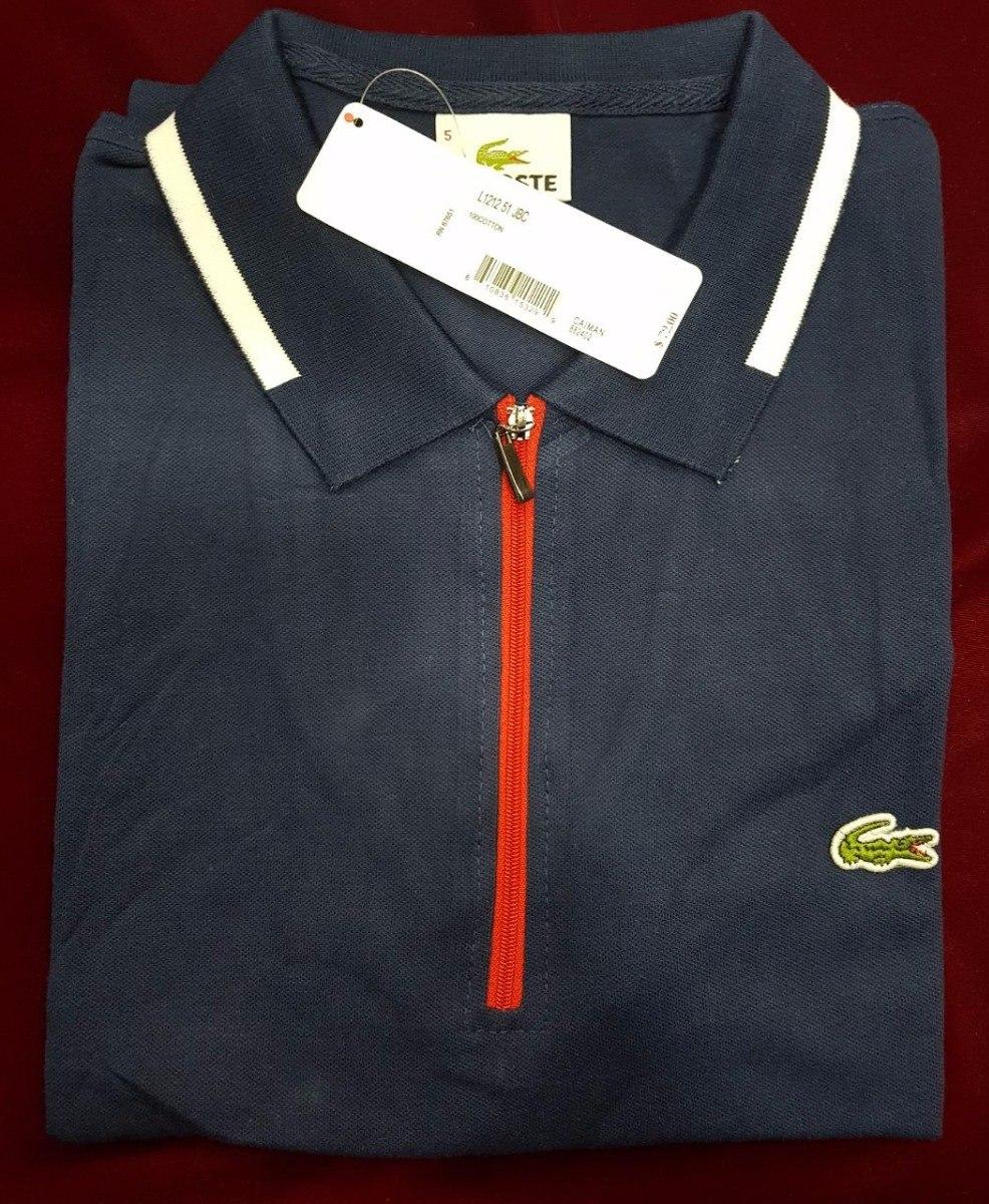 fee2eb784a Camiseta Tipo Polo Lacoste Hombre Original -   160.000 en Mercado Libre