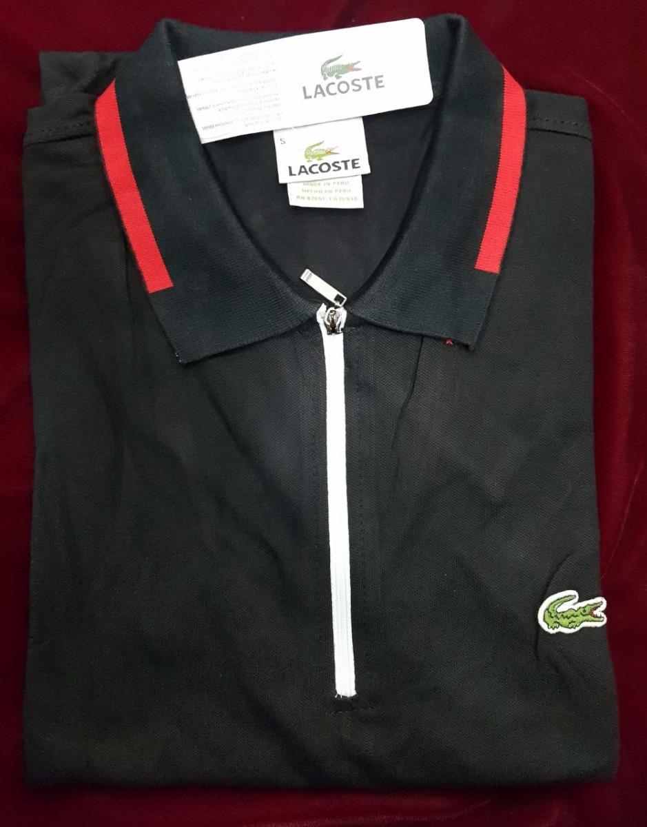 Camiseta Tipo Polo Lacoste Hombre Original -   160.000 en Mercado Libre e680f309c2805