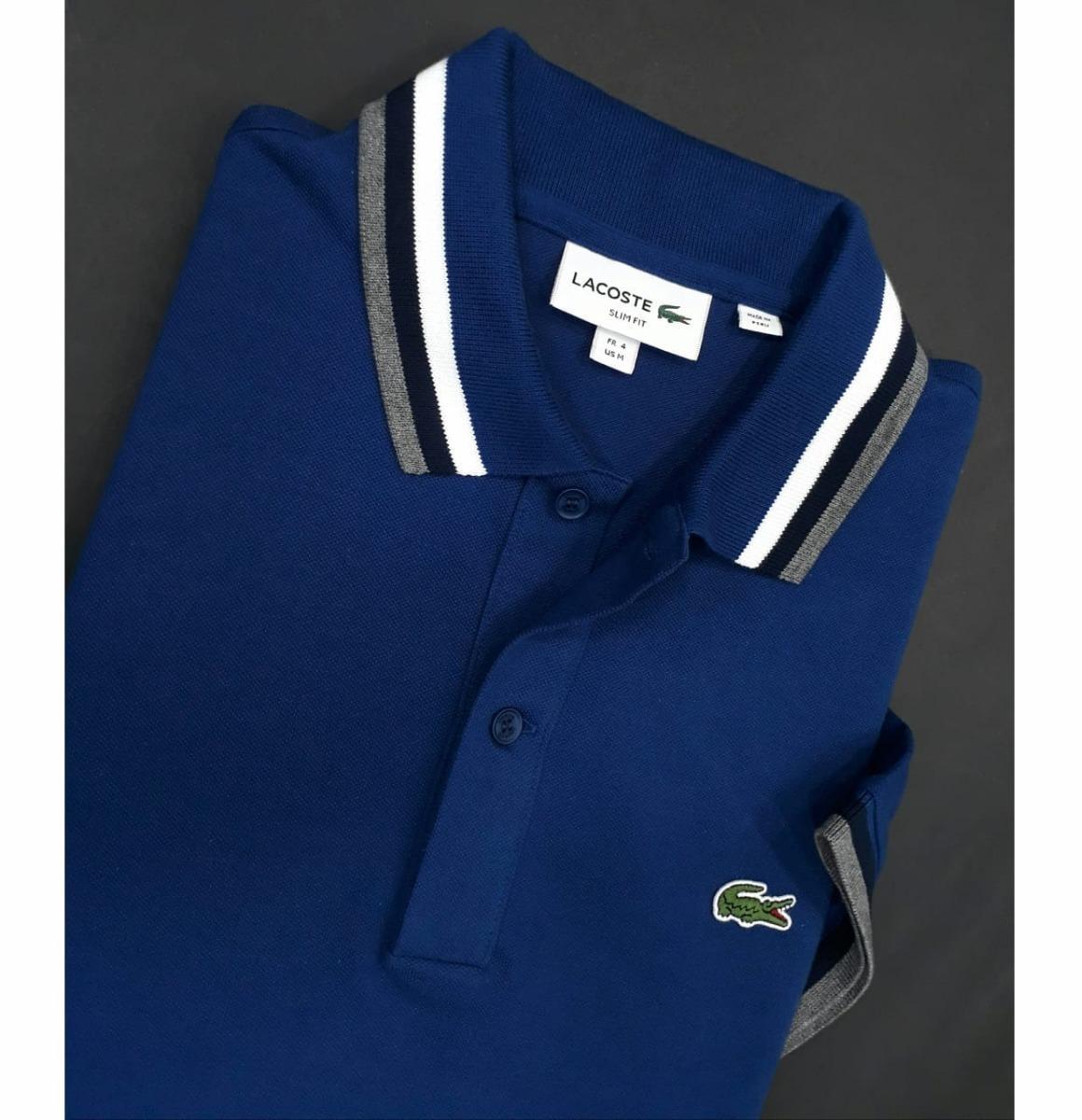 Camiseta Tipo Polo Lacoste Original -   195.000 en Mercado Libre ae2b5b25498cd
