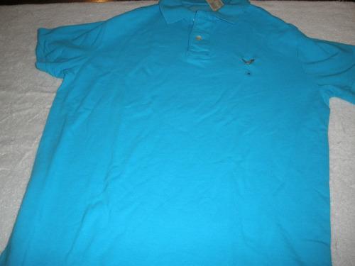 camiseta tipo polo marca american eagle talla m