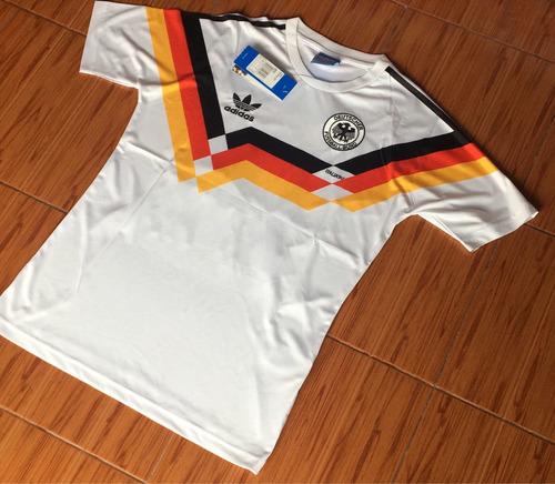 camiseta titular alemania 1990 klinsmann