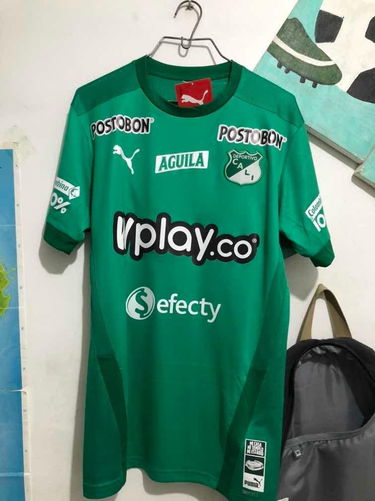 Camiseta Titular Deportivo Cali 2020 Talla M 150 000 En Mercado Libre