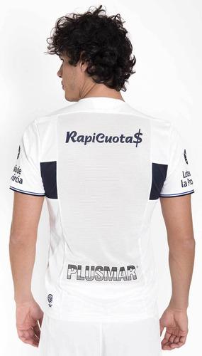 camiseta titular gimnasia de la plata 2018-2019 blanco