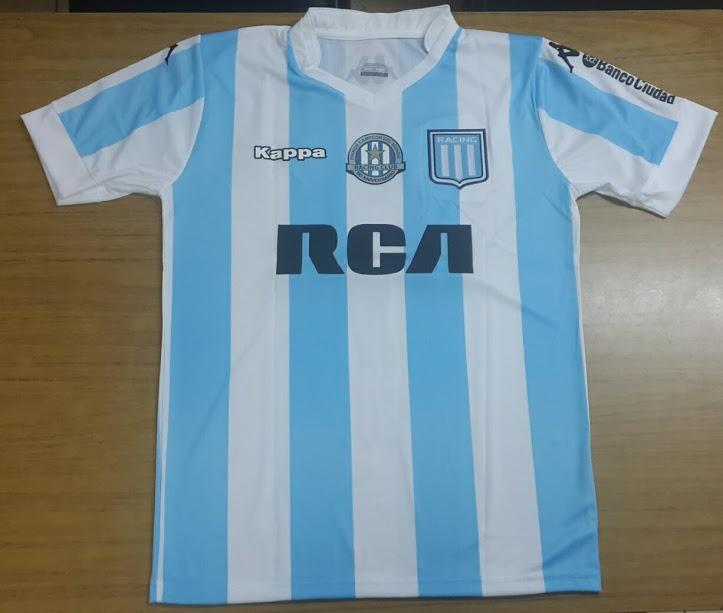camiseta titular- racing club 2017 - lisandro lopez · camiseta racing club. Cargando  zoom. dd32ff8aa1d21