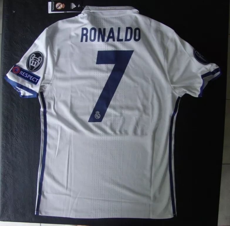 09b63a642c051 Camiseta Titular Real Madrid 2016 17 -   810