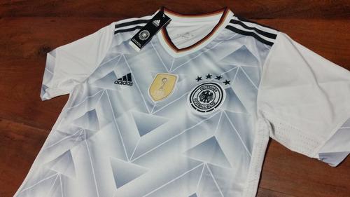camiseta titular- seleccion alemania 2017 - con parche