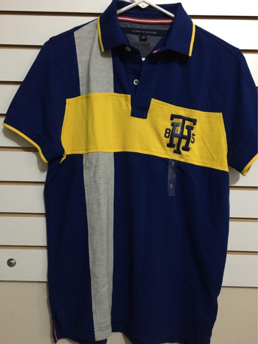camiseta tommy hilfiger de hombre d cuello tipo polo talla s. Cargando zoom. bdb6eee0f742c