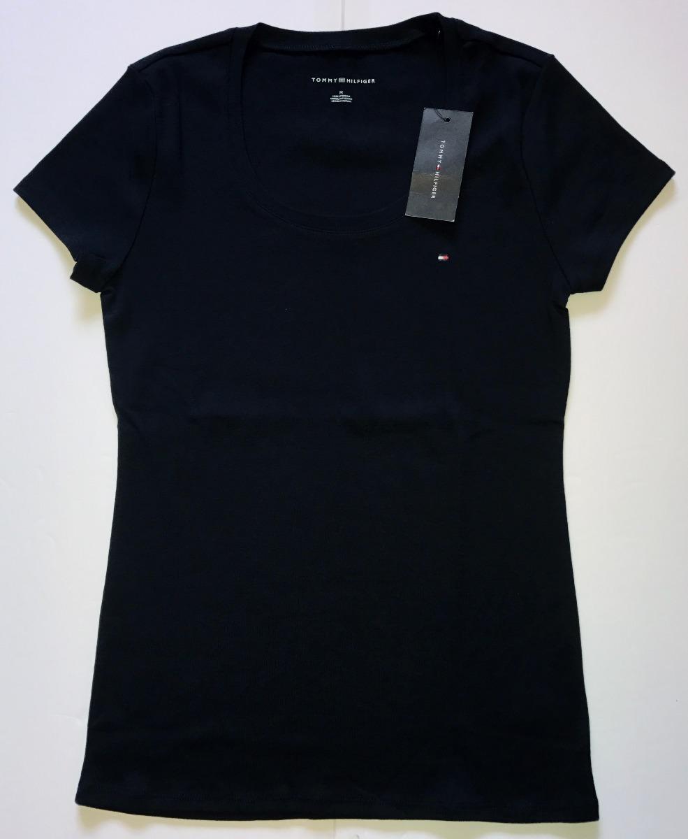 camiseta tommy hilfiger - feminina - importada. Carregando zoom. a584fb7c27af2
