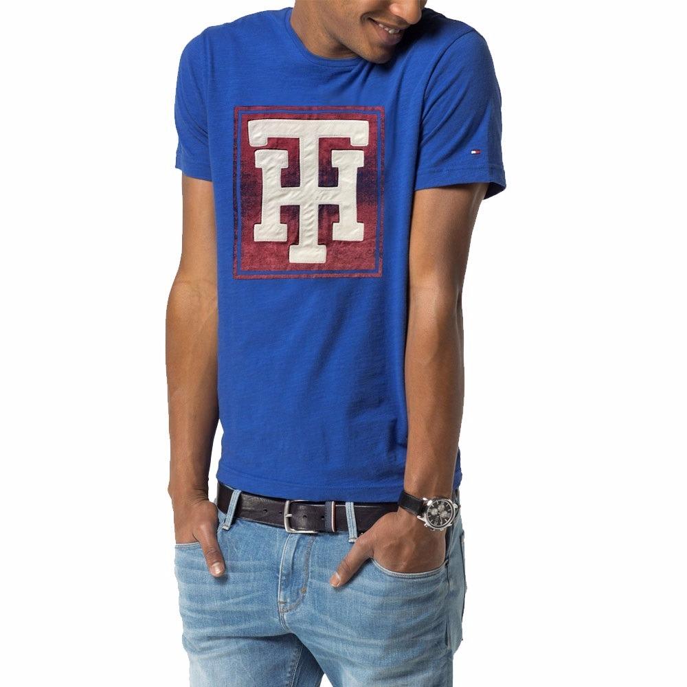 6e1e44bf35 camiseta tommy hilfiger masculina 100% original - tam m p15. Carregando  zoom.
