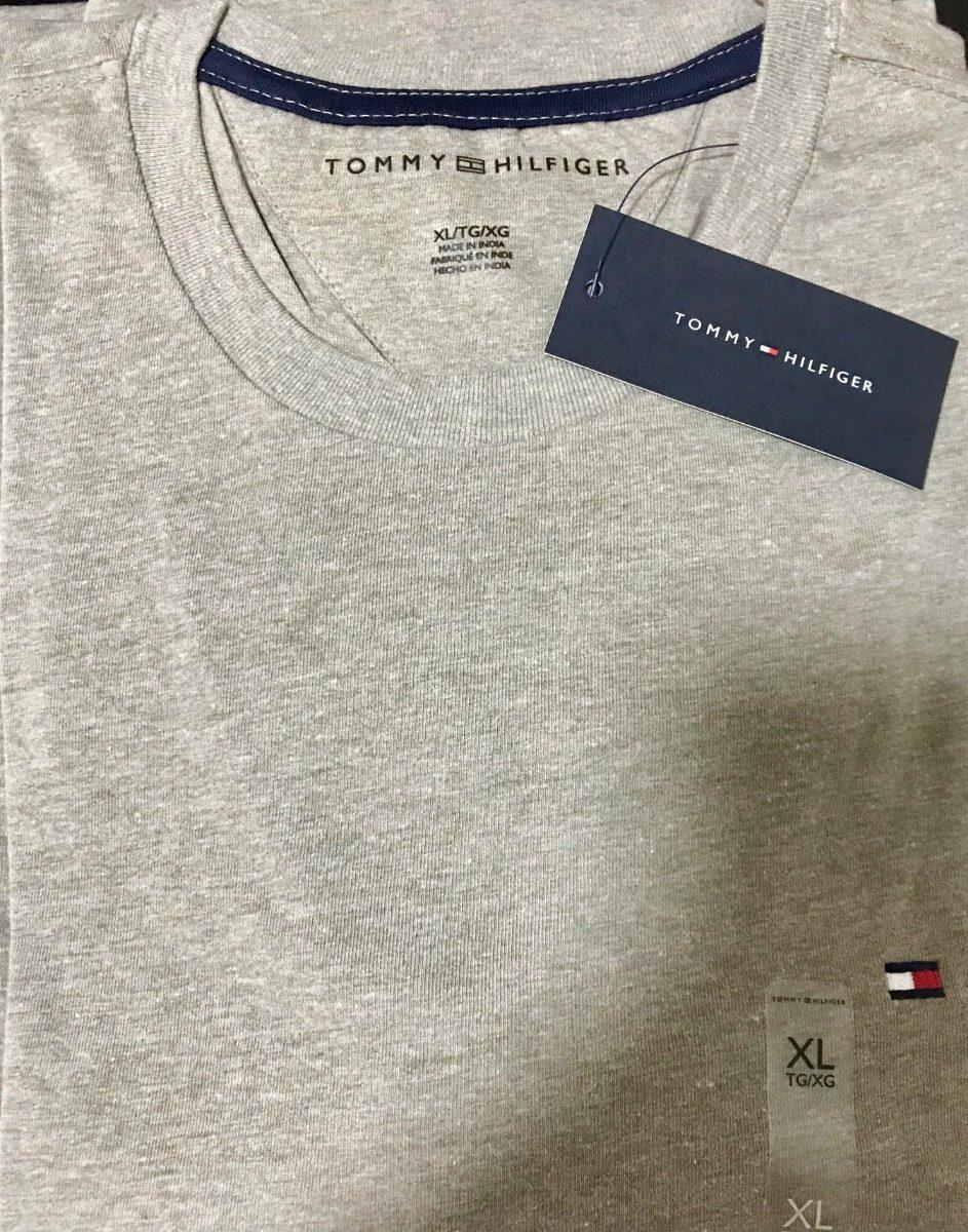 12444ae698 camiseta tommy hilfiger model basic tamanho gg 100% original. Carregando  zoom.
