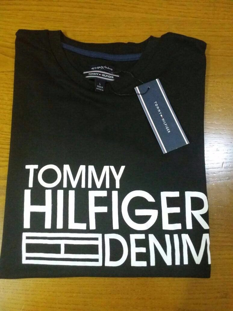 3c3b4adcc Camiseta Tommy Hilfiger Original By Outlet Orlando - R$ 120,00 em ...