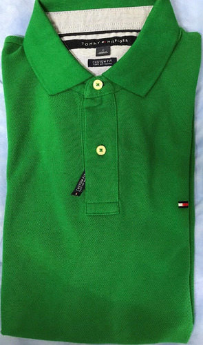 camiseta tommy hilfiger tipo polo 100% original talla m