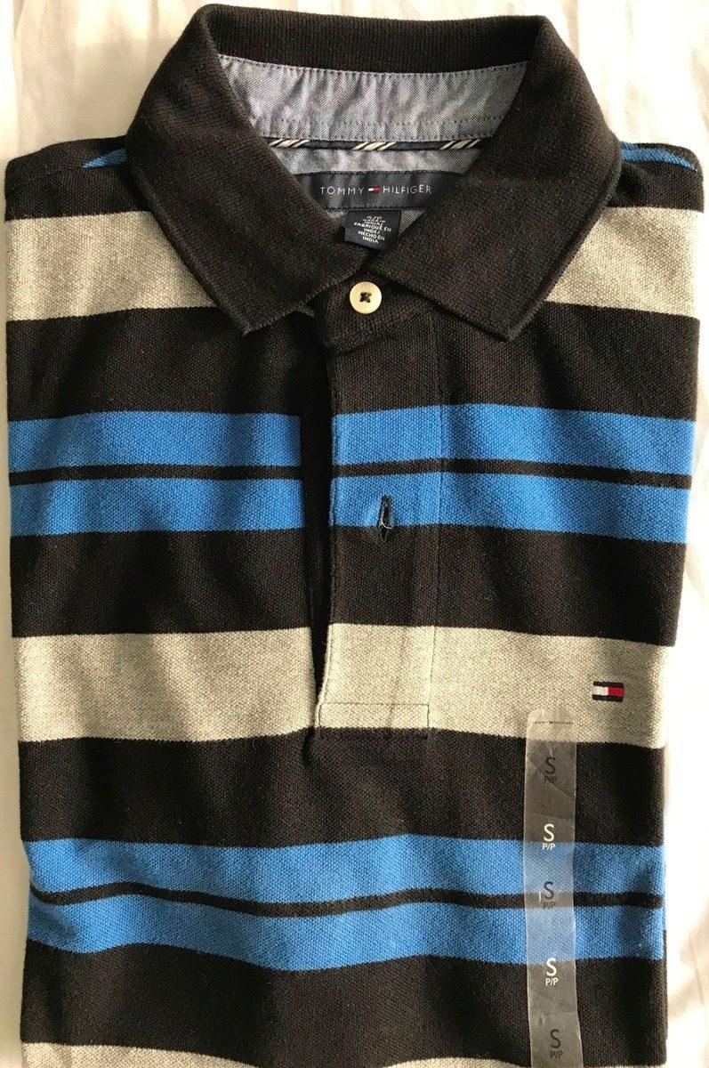 camiseta tommy hilfiger tipo polo 100% original talla s. Cargando zoom. 56c46414f34