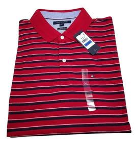 174c33ca2465 Camiseta Tommy Hilfiger Tipo Polo Para Hombre 100% Original