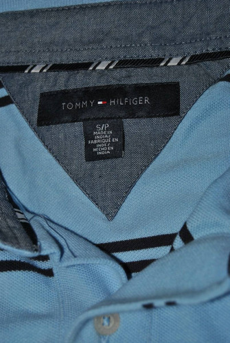 camiseta tommy hilfinger s/p small pequeno de hombre