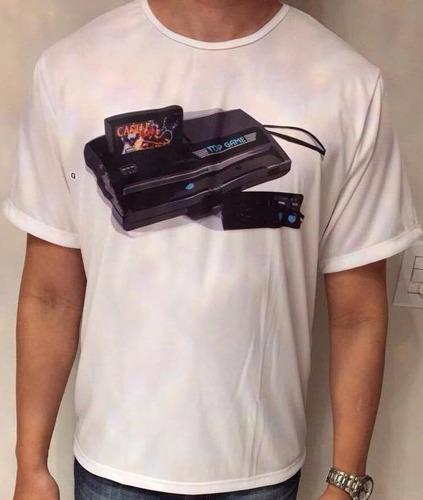 camiseta top game nintendinho vgdb
