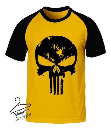 camiseta top o justiceiro 2
