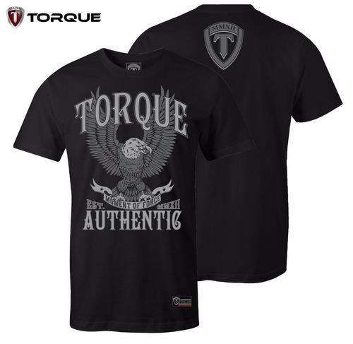 camiseta torque eagle preta