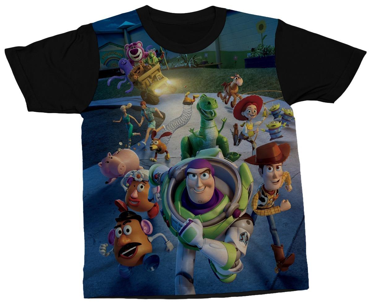 camiseta toy story filme woody buzz animação camisa blusa. Carregando zoom. ac4432cce86