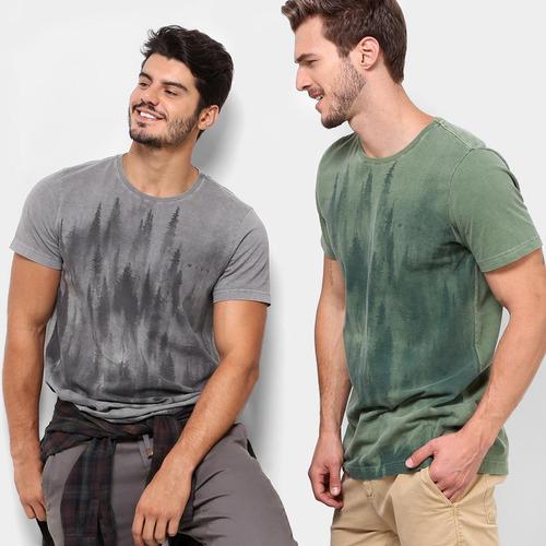 5864943ea4619 Camiseta Treebo Forest Masculina - R  30