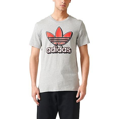 Camiseta Trefoil De Hombres Camiseta Deportiva adidas Men Fb ... a41ec1b082519