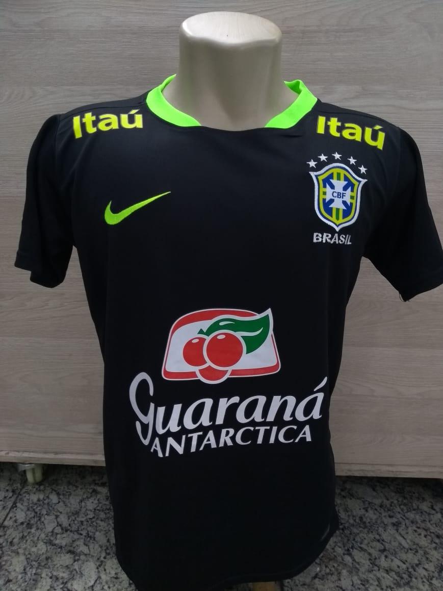 430a8d56db291 camiseta treino seleção brasileira oficial 2018. Carregando zoom.