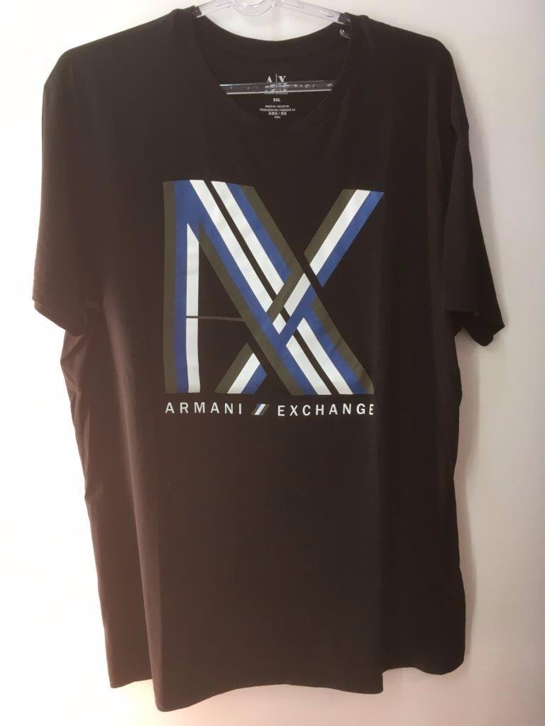 e656cc1e15c camiseta tshirt armani exchange masculina original preta xxl. Carregando  zoom.