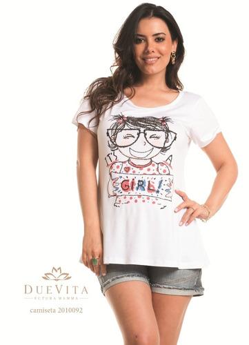 camiseta tshirt meninas it's a girl p ao gg