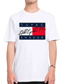 bd2739baf1f9 Camiseta Tupac Shakur Rap Hip Hop 2pac Tommy Hilfiger 2019