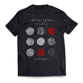 Camiseta Twenty One Pilots Blurryface Rock Activity