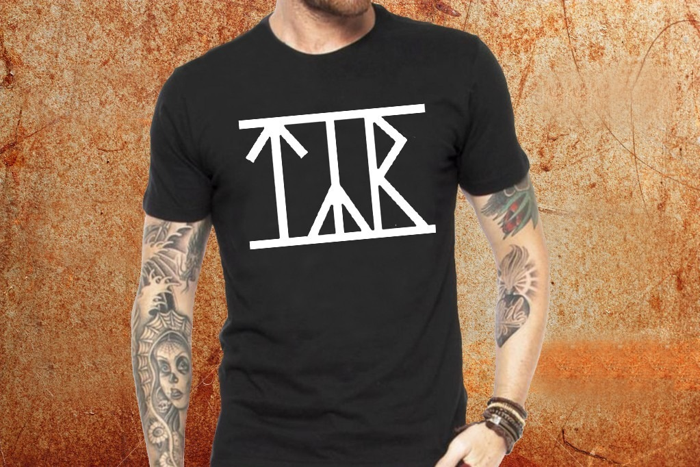 0c9fb31cba8 Camiseta Tyr Camisa Blusa Preta Banda Rock R47