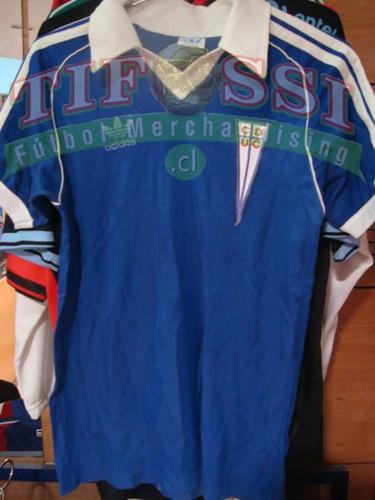 camiseta u catolica azul ochentera adidas tienda tifossi