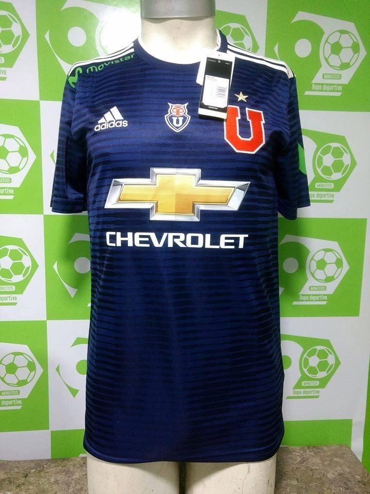 Camiseta U. De Chile 2018 adidas Nueva Local Y Visita -   24.990 en ... 9f30e5cbaab57