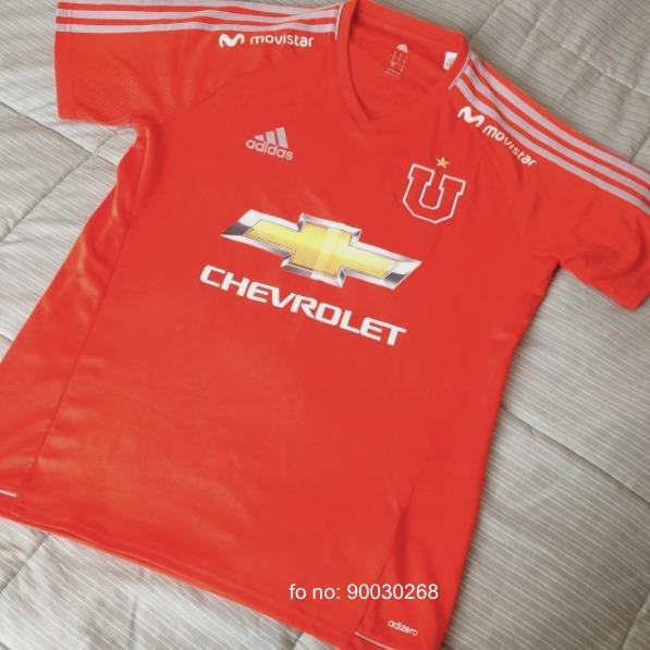 Camiseta U De Chile Entrenamiento 2017 Chevrolet -   35.000 en ... 041de1aa9fcf6