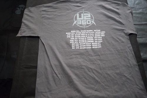 camiseta u2 importada rock activity talla l