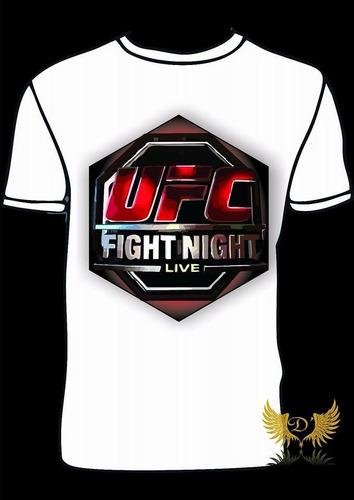 camiseta ufc modelos  personalizada exclusivas