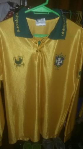 camiseta uhisport seleccion brasil