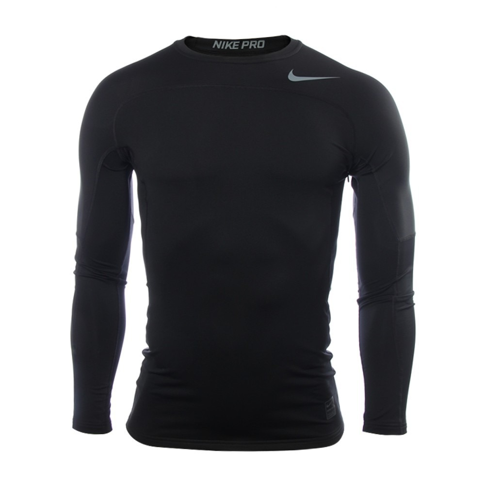 91184c1ec1 camiseta ultra térmica nike pro hyperwarm compression black. Cargando zoom.