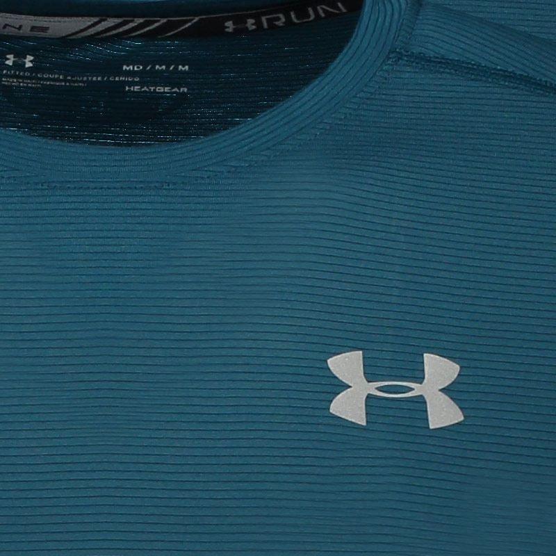 dirigir herir exégesis  Camiseta Under Armour Threadborne Logo Verde - R$ 99,90 em Mercado Livre