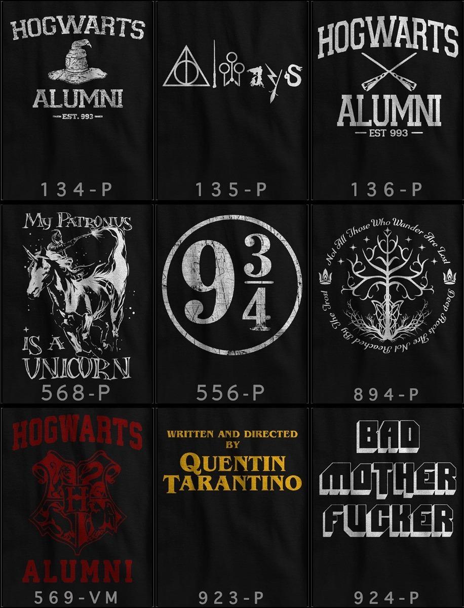 Camiseta Unicornio Harry Potter Patronus Tumblr Hermione Ron R