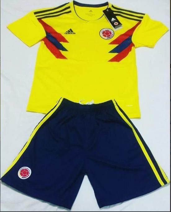7b3b86d166f87 Camiseta (uniforme) Colombia 2018 Bebés-niños Tallas 0 A 18 ...