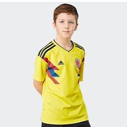 47191d5e27380 Camiseta Uniforme Selección Colombia Niño 2018 0riginal -   105.000 ...