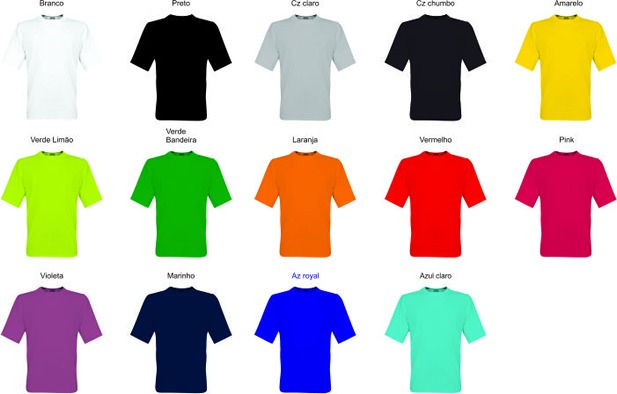 0c48ab6fa0 Camiseta Uniformes Bordado Personalizado Com Arte Grátis - R  25