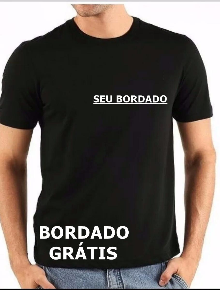 f16253f8b3 camiseta uniformes bordado personalizado com arte grátis. Carregando zoom.