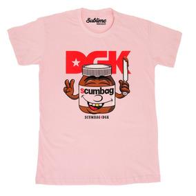 e4158aca7b1 Camiseta Unisex Dgk All Day Collab Nutella Personalizada